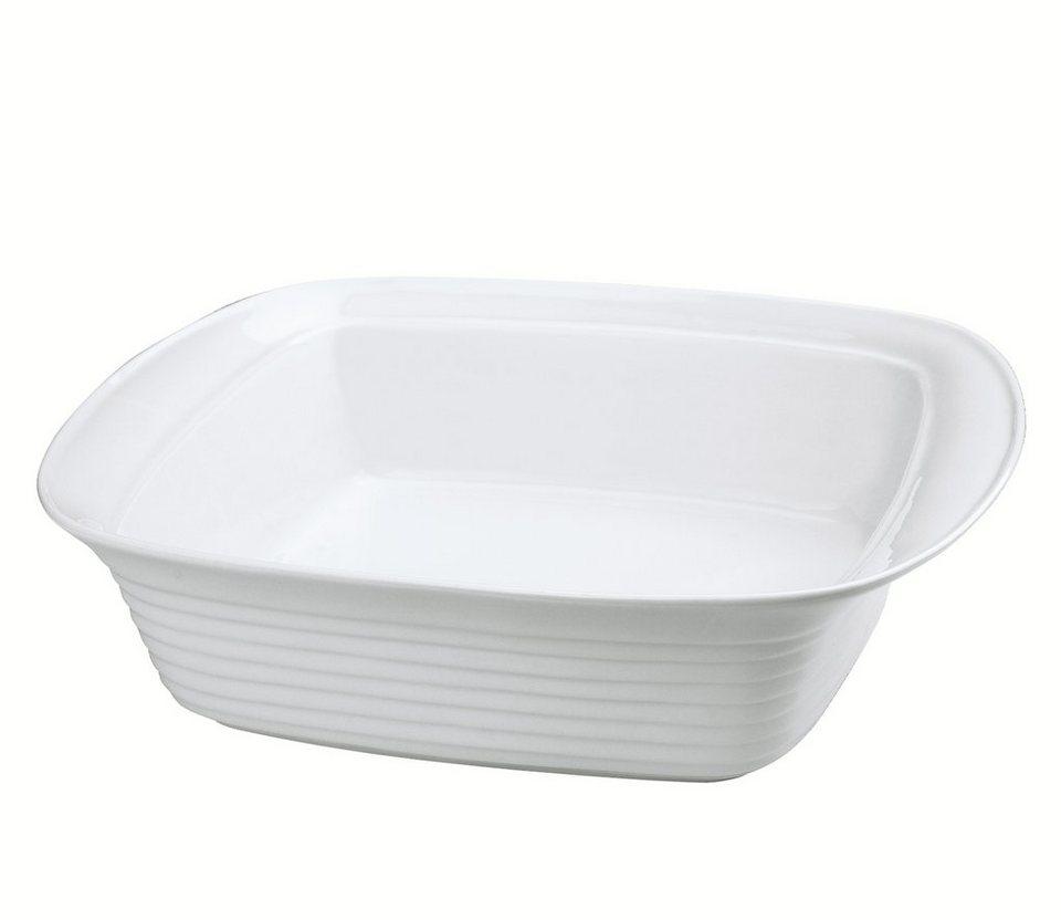 Küchenprofi Lasagneform Hoch in Weiß