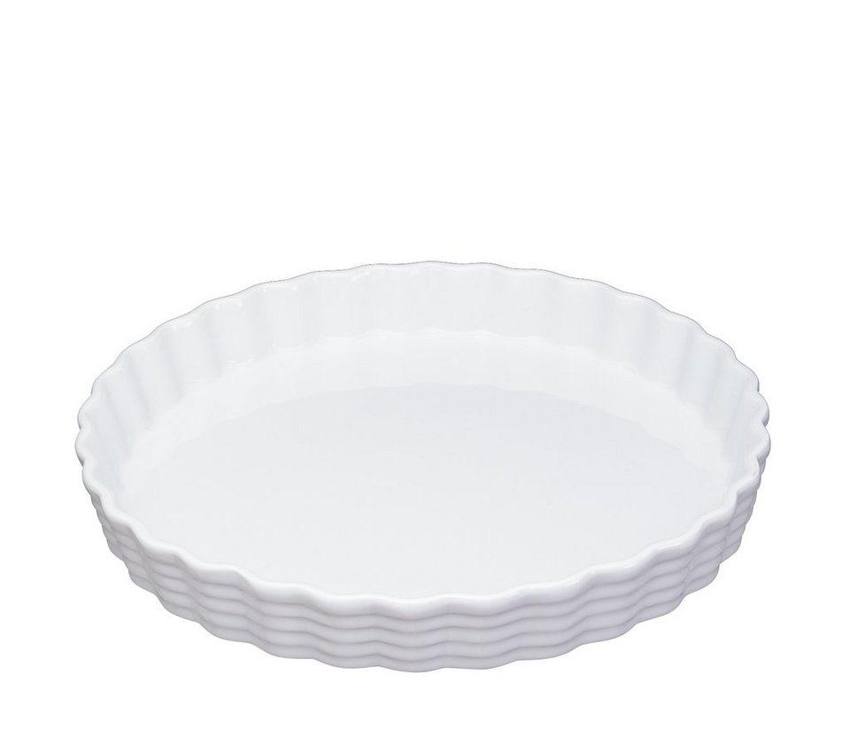 Küchenprofi Tortenform »Burgund« in Weiß
