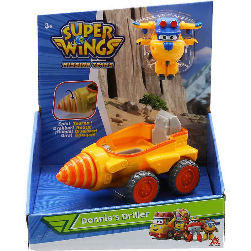 Super Wings Spielzeug-Flugzeug »Super Wings Donnie's Driller«