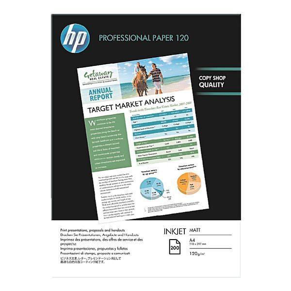 HP InkJet-Papier »HP Professional 120 matt«, A4