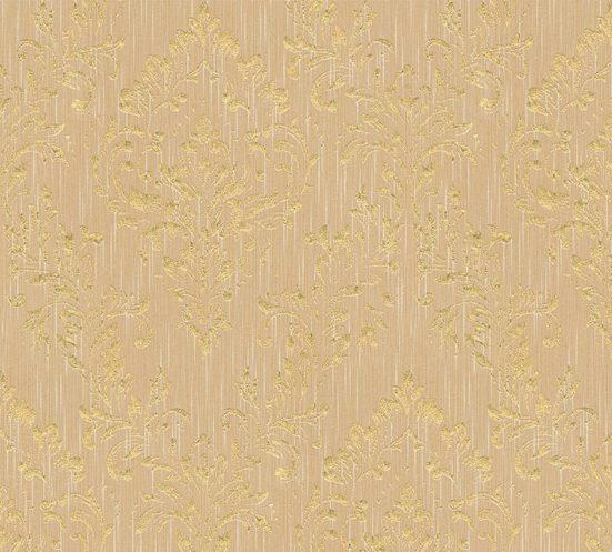 Architects Paper Textiltapete »Metallic Silk«, samtig, Barock, matt, glänzend, mit Ornamenten