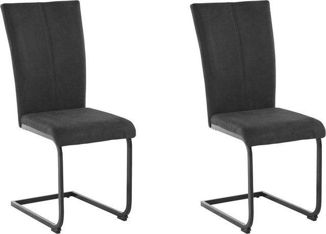 Stühle und Bänke - Freischwinger »Oliver« (2 Stück), Bezug in Kunstleder oder Microfaser  - Onlineshop OTTO