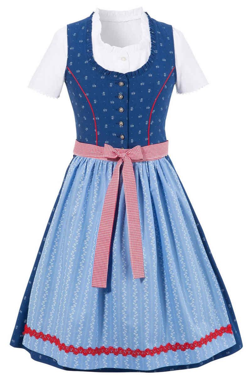 Andreas Gabalier Kollektion Dirndl (3-tlg) Kinder durchgeknöpft auch als Kleid tragbar