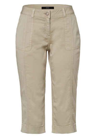 Zero 7/8-Caprijeans »5 Pockets« Plain/ohne Details