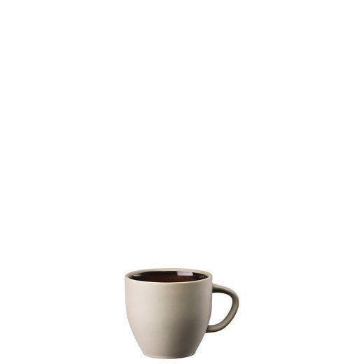 Rosenthal Tasse »Junto Shiny Bronze Kaffee-Obertasse«, Steinzeug