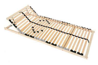 Lattenrost, Coemo, 28 Leisten, Kopfteil manuell verstellbar, Fußteil nicht verstellbar, 90 x 200 cm, preisgünstige Selbstmontage