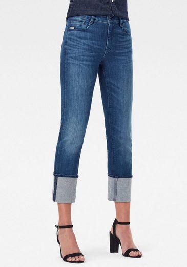 G-Star RAW Straight-Jeans »Noxer Straight« mit Reißverschlusstasche über der Gesäßtasche hinten