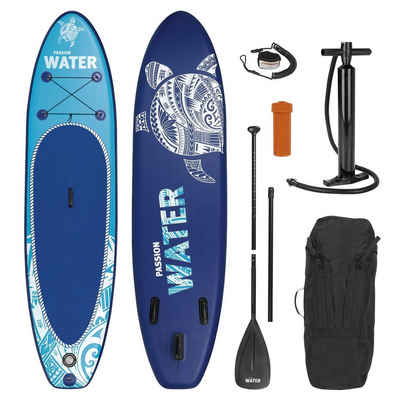 MAXXMEE Inflatable SUP-Board, Stand-Up Paddle-Board 2021 blau 300 cm