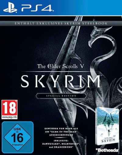 The Elder Scrolls V: Skyrim Special Edition PlayStation 4