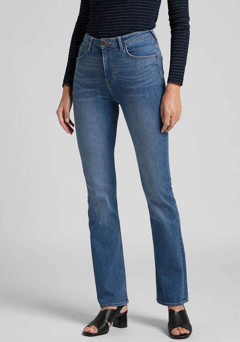 Lee® 5-Pocket-Jeans »Breese« mit leichter Waschung