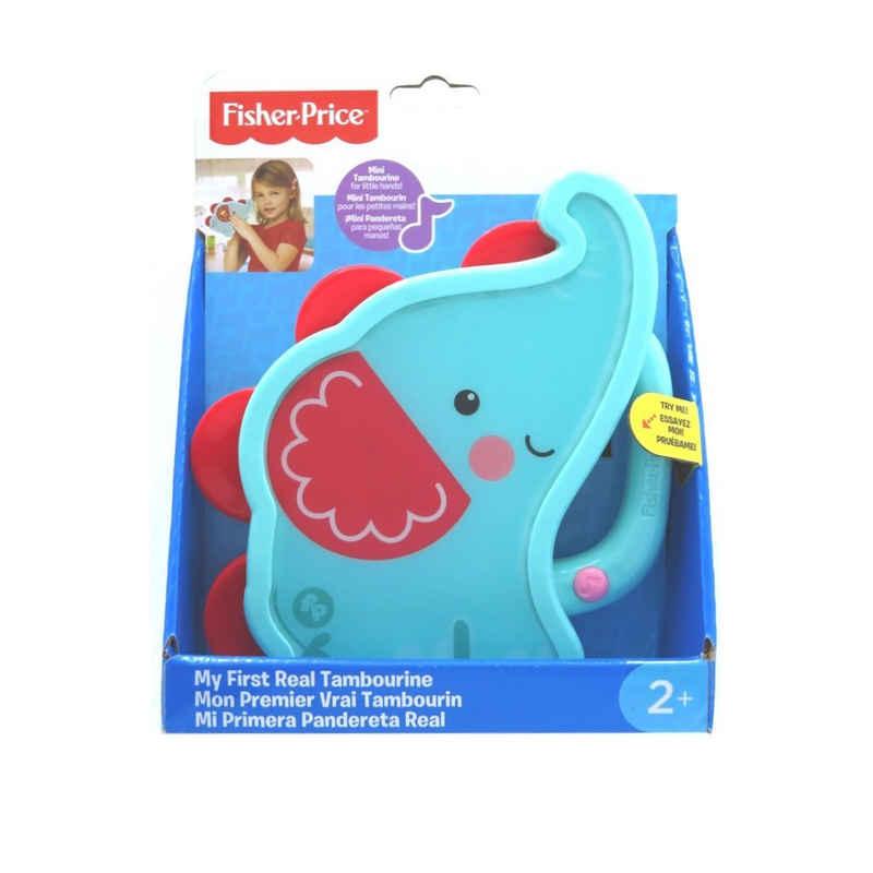 Fisher-Price® Tamburin »Tamburin Elefant mein erstes Tamburin Elefant mit Licht und Soundeffekten«