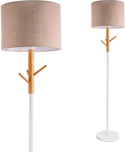 Pauleen Stehlampe »Grand Romance«, Stoffschirm Beige