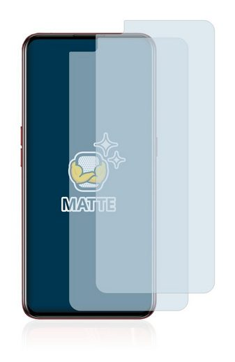 BROTECT Schutzfolie »für Realme X50 Pro Player«, (2 Stück), Folie Schutzfolie matt entspiegelt