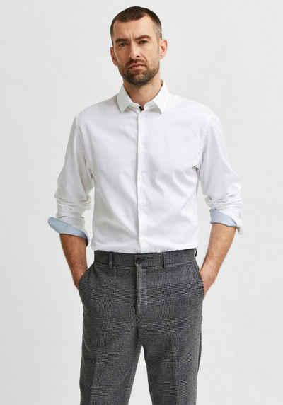 SELECTED HOMME Langarmhemd »SLIMFLEX-PARK SHIRT«