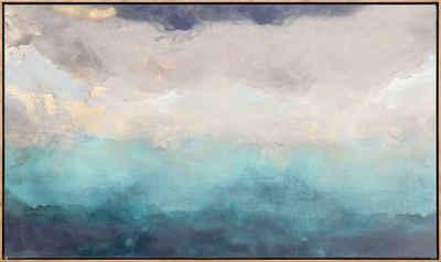 Reinders! Leinwandbild »Abstrakt Blau - Leinwandbild«