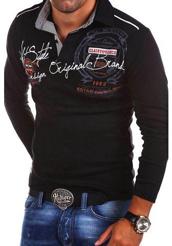 behype Polo marškinėliai »Ambition« su Hemdkr...