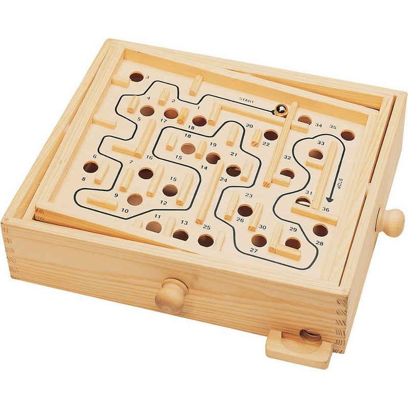 Natural Games Spielesammlung, »Holz Labyrinth 30 x 25,5 cm«