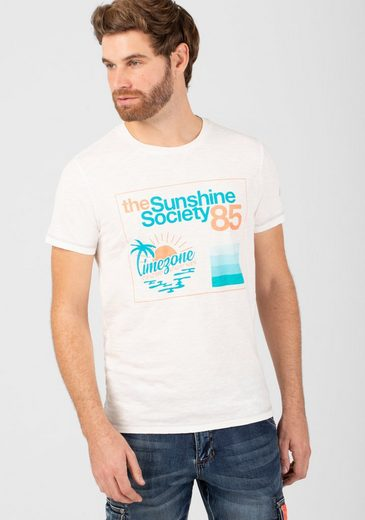 TIMEZONE T-Shirt »Sunshine Society T-Shirt«