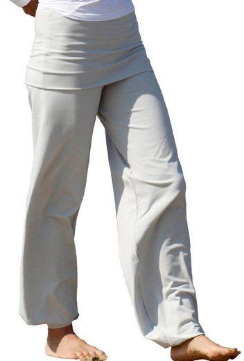 ESPARTO Yogahose »Yogahose Sooraj - das Original in Bio-Baumwolle« mit elastischem Bund