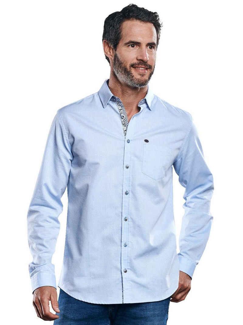 Engbers Langarmhemd »Hemd uni«