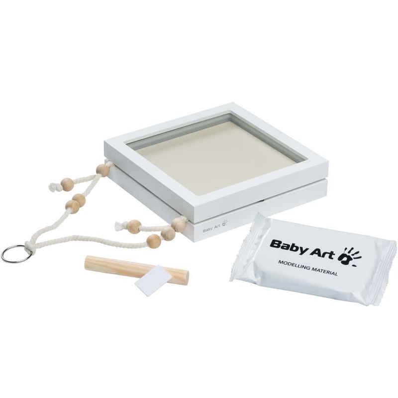 BABY ART Bilderrahmen-Set »Baby Art Hänge-Bilderrahmen für Foto und Abdruck Weiß«