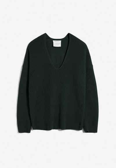 Armedangels Strickpullover »ARYANAA Damen Pullover aus Bio-Baumwoll Mix«
