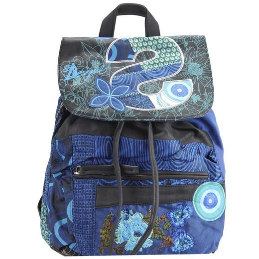 Desigual BOLS Oxford S Patch City Rucksack 26 cm