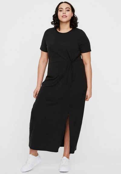 Vero Moda Curve Jerseykleid Mit seitlichem Knotendetail