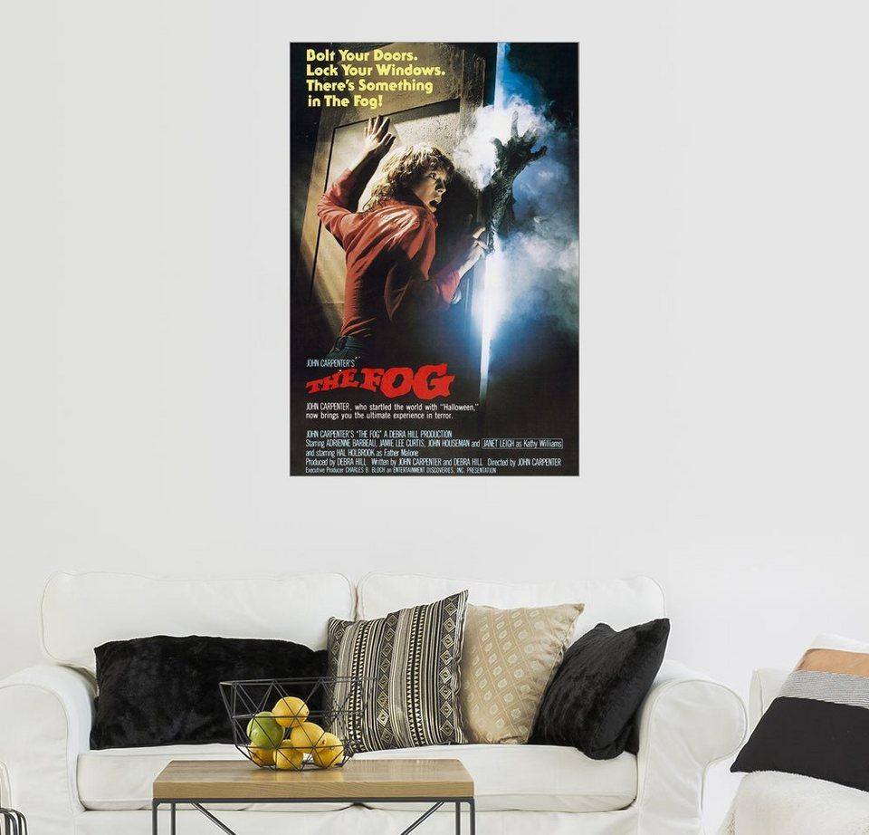 Posterlounge Wandbild, Premium-Poster The Fog – Nebel des ...