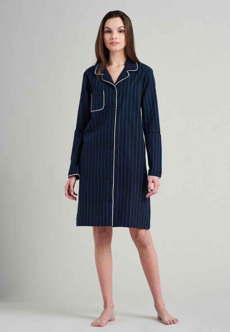 seidensticker Nachthemd »Elegant Pinstripes«