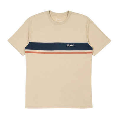 Brixton T-Shirt »Gate Stripe - safari«