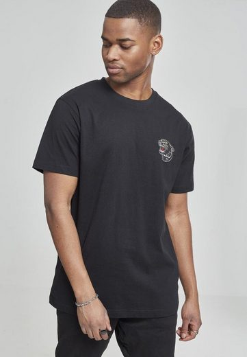 MisterTee T-Shirt »Embroidered Panther Tee«