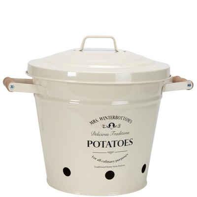 BUTLERS Aufbewahrungsbox »MRS. WINTERBOTTOM'S Kartoffeleimer Höhe 26cm«, Zink