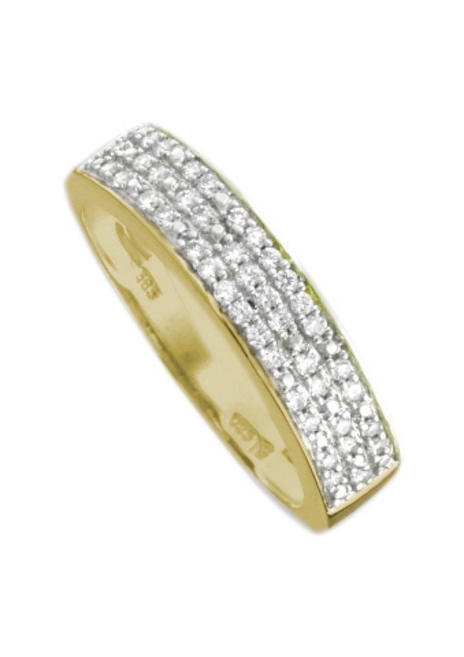 firetti Ring, bicolor in 42 Brillanten