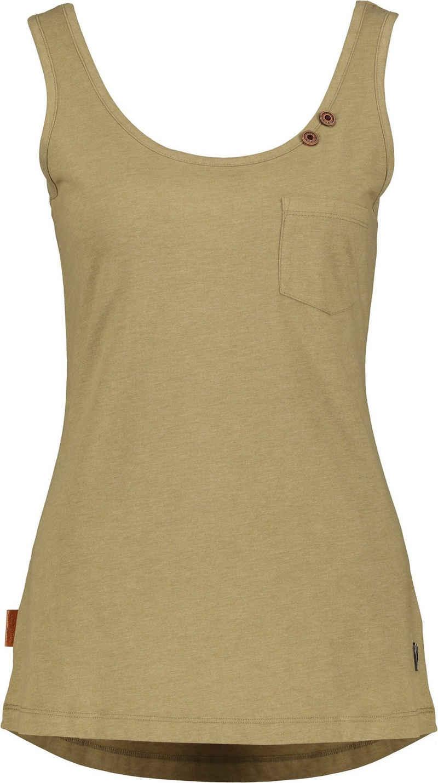 Alife & Kickin Tanktop »JennyAK« feminines Jersey-Top mit Knopf-Details