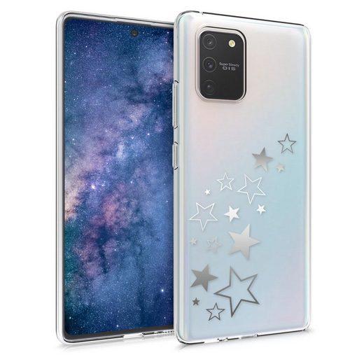 kwmobile Handyhülle, Hülle für Samsung Galaxy S10 Lite - TPU Silikon Handy Schutzhülle Cover Case - Sternenmix Design