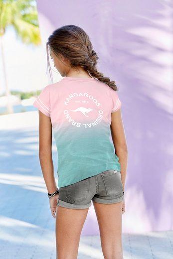 KangaROOS T-Shirt in bequemer Weite