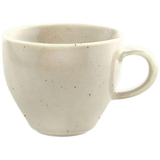 Kahla Tasse »Homestyle Milchkaffeetasse 0,30 l«, Porzellan, Handglasiert, Made in Germany
