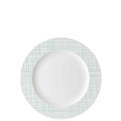 Rosenthal Frühstücksteller »Mesh Line Aqua Fahnenteller 23 cm flach«, (1 Stück)