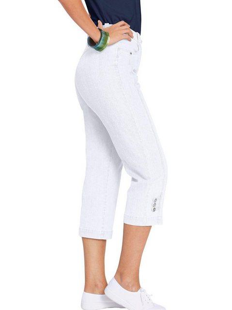 Hosen - Casual Looks 7 8 Jeans › weiß  - Onlineshop OTTO