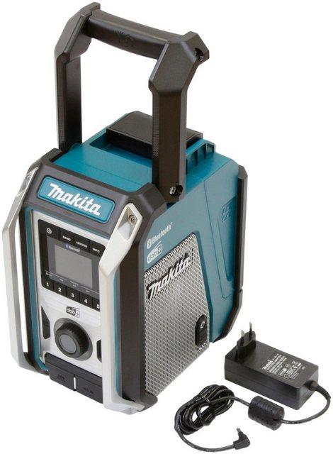 Makita DMR115 Baustellenradio FM-Tuner, Digitalradio DAB , 12V, Bluetooth-Radio mit IP65-Gehäuseschutzklassifizierung