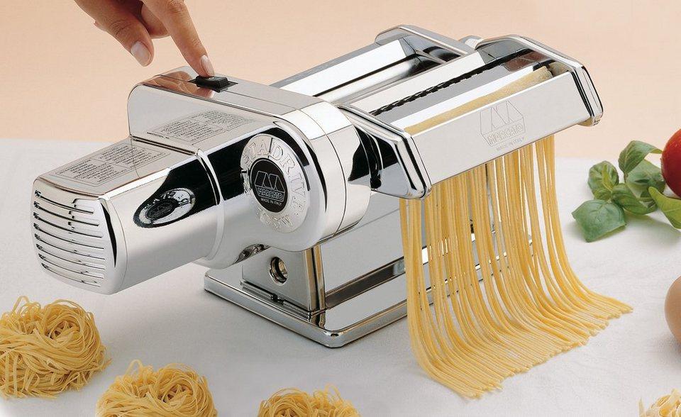 Küchenprofi Nudelmaschine Atlasmotor »by Marcato« in Edelstahl