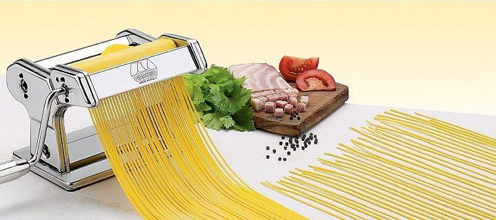 Küchenprofi Chitarra-Vorsatz »by Marcato« in Silber