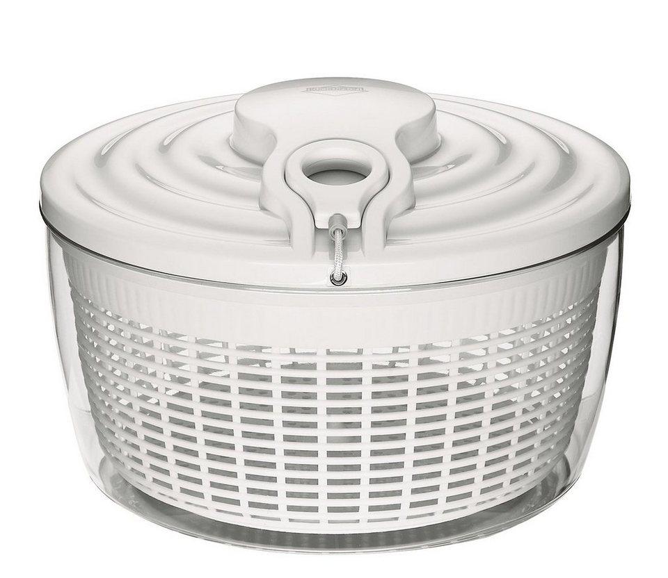 Küchenprofi Salatschleuder Maxi in Weiß