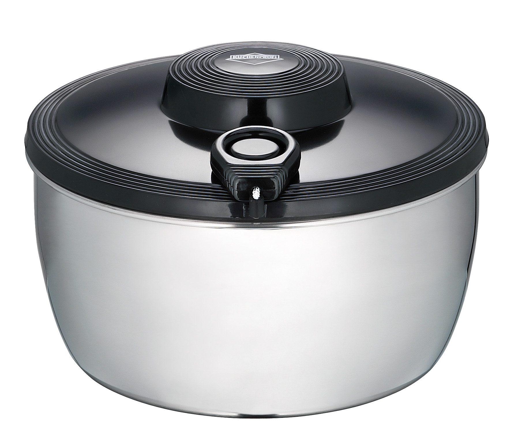 Küchenprofi Salatschleuder Edelstahl