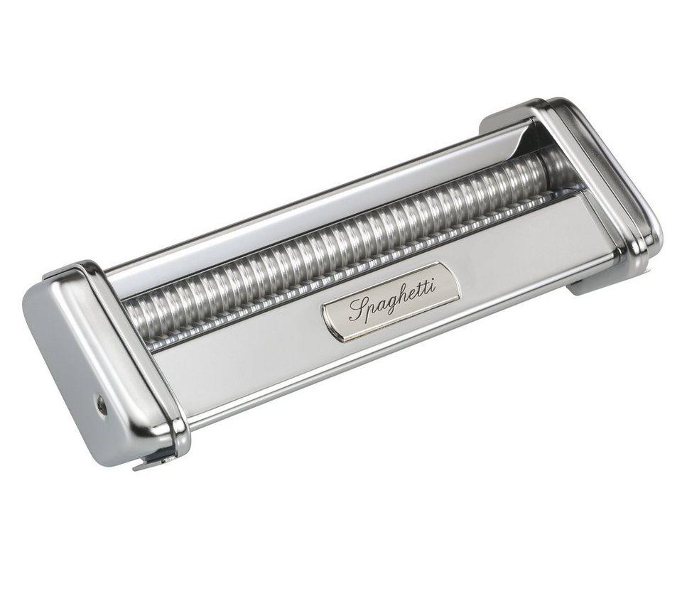 Küchenprofi Spaghetti-Vorsatz »by Marcato« in Silber