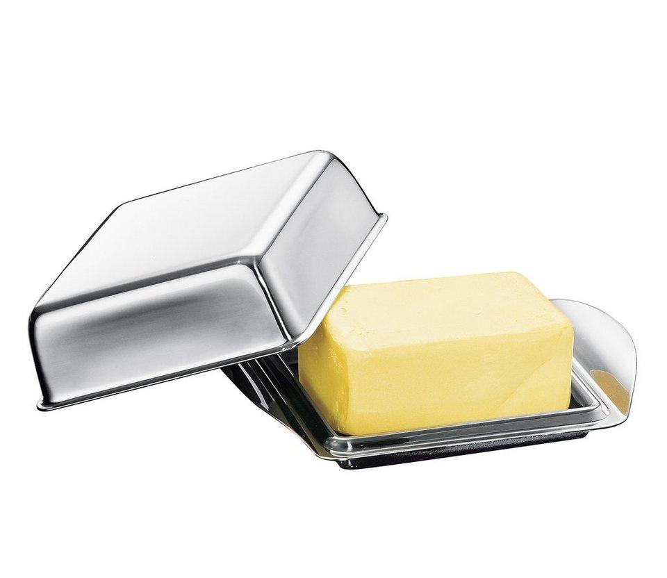 Küchenprofi Kühlschrank-Butterdose in Silber