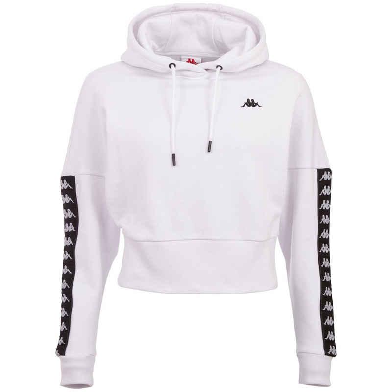 Kappa Kapuzensweatshirt »JUNJA« in innen angerauter Sweat-Qualität