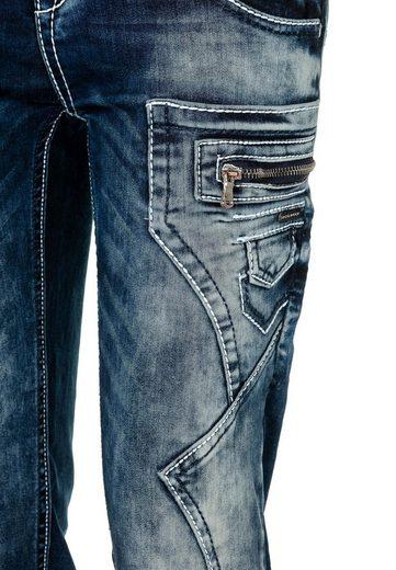 Cipo & Baxx Bequeme Jeans  Imagine 2  mit niedriger Taille