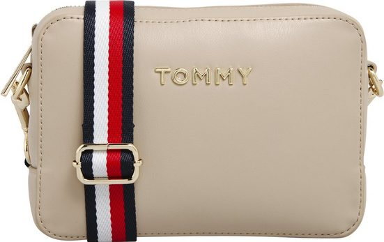 TOMMY HILFIGER Mini Bag »ICONIC TOMMY CAMERA BAG«, mit Textilumhängeriemen
